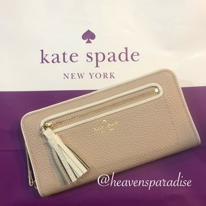 Kate Spade Neda Chester Street Zip Around WalletNWT, used for sale